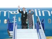 President arrives in Lima for APEC week