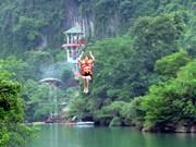 Vietnam's longest zip-line lures tourists to Quang Binh