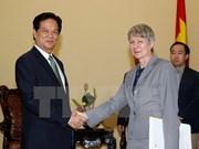 PM bids adieu to outgoing German ambassador