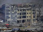 Explosion à Tianjin: Message de condoléances du vice-PM Pham Binh Minh