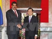 Vietnamese, Venezuelan Presidents hold talks