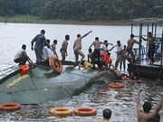 At least 14 dead after boat sinks off Malaysia