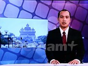 Lao National TV airs first news programme in Vietnamese