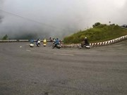 Hai Van Pass, a challenge for new and experienced bikers
