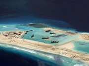 Vietnam opposes construction on rock islets in Hoang Sa, Truong Sa