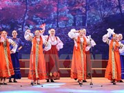 Russian performances in Thanh Hoa attract locals