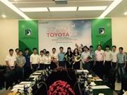 Toyota Vietnam awards scholarships to students