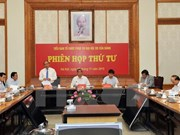 Preparations for upcoming 12th National Party Congress reviewed