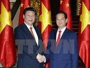 Vietnamese PM meets with Chinese top leader