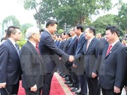 Chinese leader concludes Vietnam visit