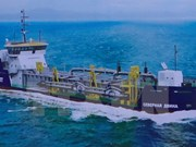 Vessel for Russian firm launched in Da Nang