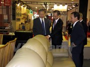 Made-in-Vietnam woodwork products, decoration showcased