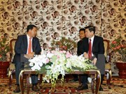 HCM City leader receives Cambodian People's Party delegation