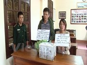 Lang Son police seizes 10 kg of methamphetamine