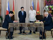 Vietnam, Philippines issue joint statement on strategic partnership