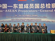 ASEAN, China strengthen ties in fighting crime