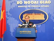 Vietnam supports peaceful East Sea dispute settlement