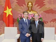 Top legislator welcomes new Lao Ambassador