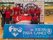 ASEAN Para Games kick off in Singapore