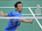 Top player enters semi-finals of US badminton event