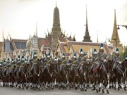 Thai people in festive mood on King's birthday