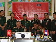 Vietnam aids Laos' military training