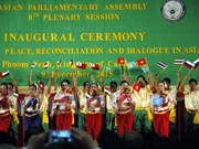 Asian Parliamentary Assembly issues Phnom Penh Declaration