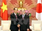NA Chairman meets Japanese legislature leader