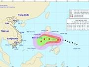 Tropical storm Melor enters East Sea