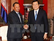 President confident in ties between Vietnamese, Cambodian legislatures