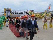 Jetstar Pacific operates Hanoi-Tuy Hoa air route