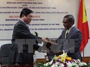 Vietnam, Timor Leste sign MoU on rice trade