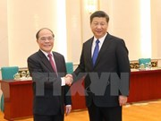 Vietnam's top legislator meets with Chinese Party chief