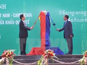 Key Vietnam-Cambodia border marker inaugurated