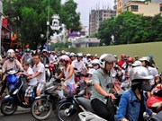 Hanoi pushes for private vehicle reduction