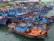 Quang Tri fishing vessels to be equipped with LED lights