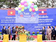 Vietnam helps Laos build hospital
