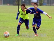 Women's football team called for Rio Olympics qualifier