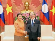 Top legislator welcomes Lao delegation