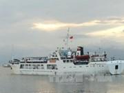 Ships bringing Tet gifts arrive at Truong Sa island district