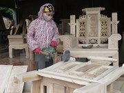Dong Nai runs 860 mln USD surplus in wood trade