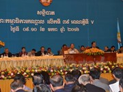Cambodia: Ruling party holds 39th meeting