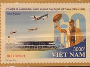 Stamp celebrates civil aviation industry's anniversary