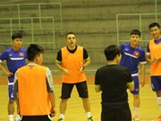 Vietnam futsal team to play friendly matches with Malaysia