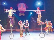 Mongolian, Lao, Vietnamese circus artists begin festival