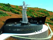 Quang Ngai : Work starts on Hoang Sa soldier memorial site