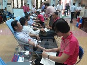 Country donates blood to save lives