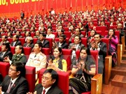 12th National Party Congress issues press release on opening ceremony
