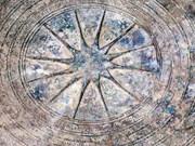 Ancient bronze drum found in Dien Bien