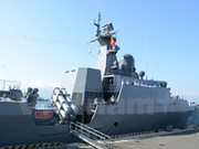 Vietnamese navy frigate visits Singapore